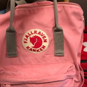 Fjallraven Pink backpack